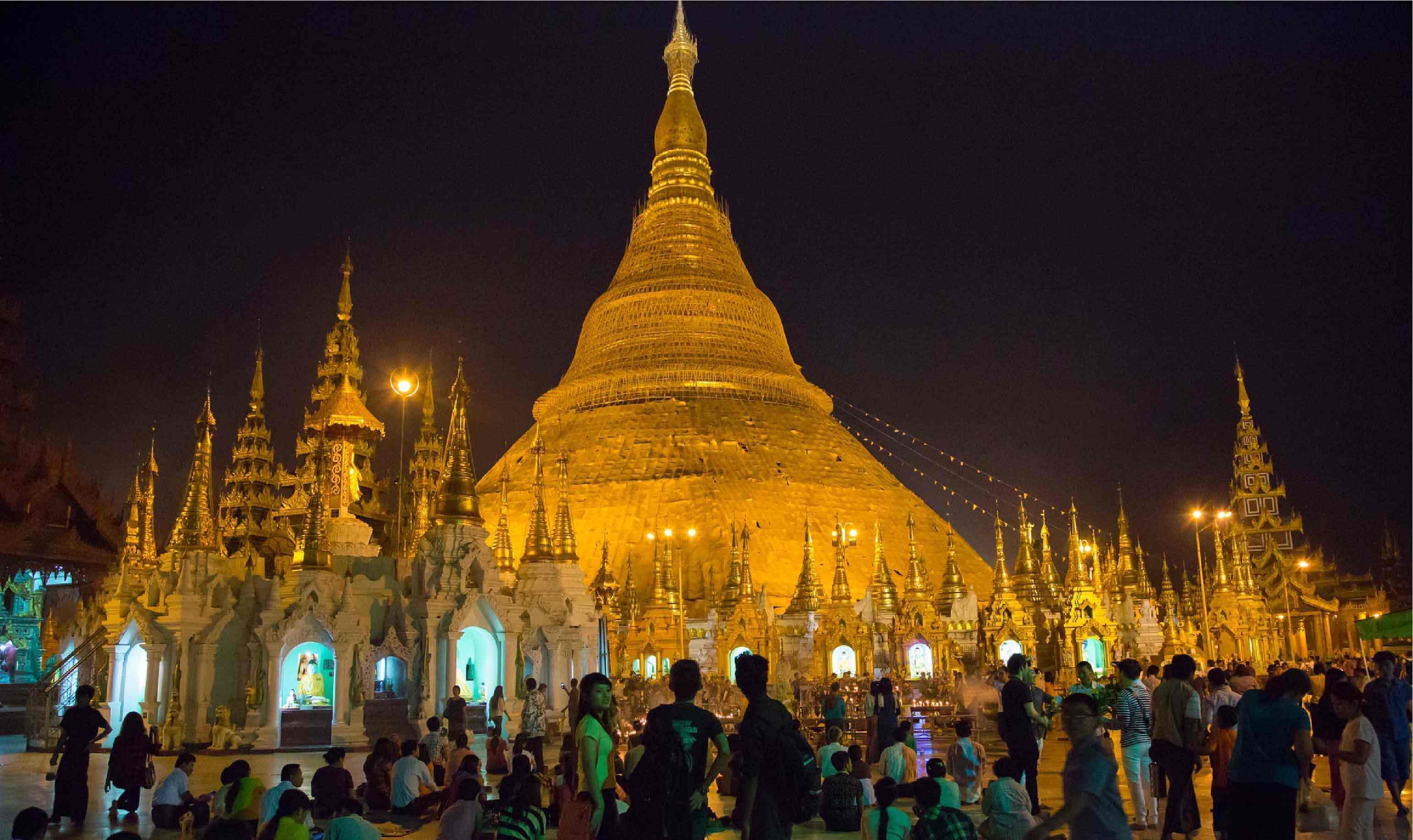 ทัวร์พม่า ย่างกุ้ง หงสาวดี อินแขวน 4วัน 3คืน บินไทยไลอ้อนแอร์(SL)