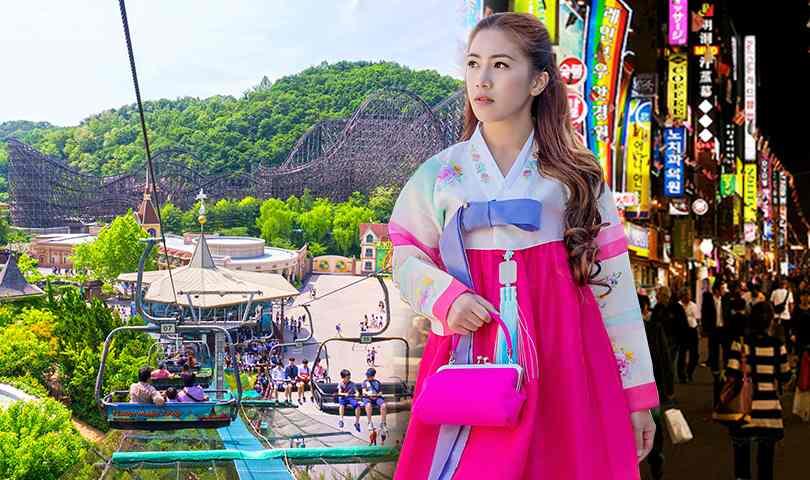 ทัวร์เกาหลี สวนสนุกเอเวอร์แลนด์ อิสระช็อปปิ้ง ตลาดเมียงดง 5วัน 3 คืน บิน(TG)