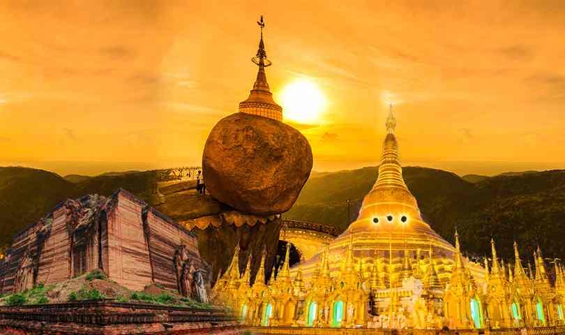 ทัวร์พม่า พุกาม มัณฑะเลย์ อมรปุระ มิงกุน 4 วัน 3 คืน บินบางกอกแอร์เวย์