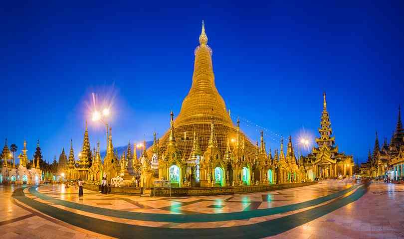 ทัวร์พม่า ย่างกุ้ง หงสาพระธาตุอินทร์แขวน 3 วัน 2 คืน