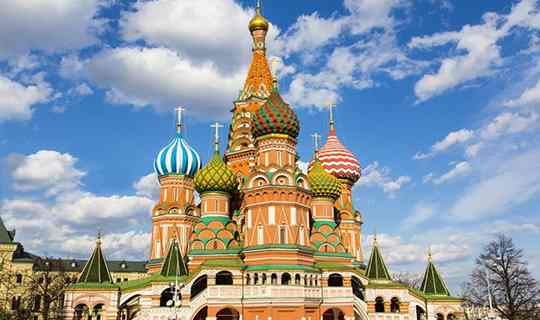 ทัวร์รัสเซีย ใบไม้ผลิ มอสโคว์ เซนต์ปีเตอร์ 6วัน 4คืน บิน Air astana (KC)