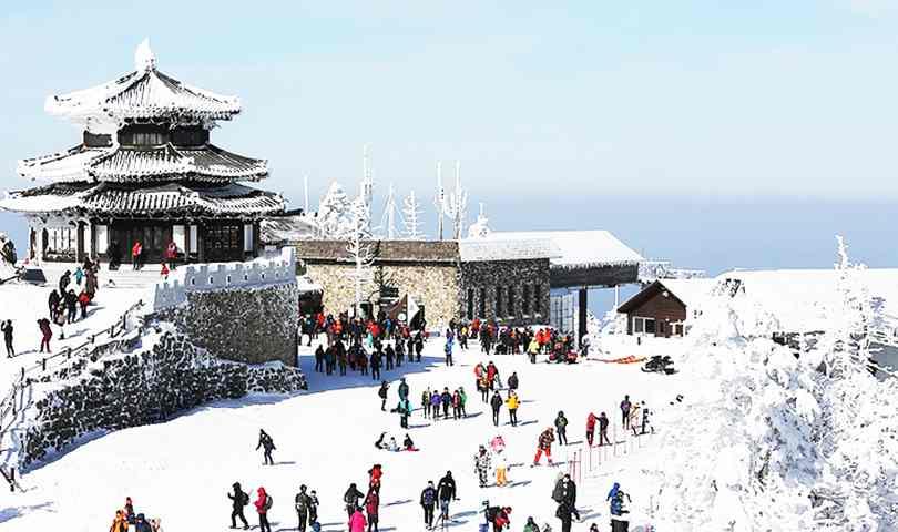ทัวร์เกาหลี สนุกสนานเมืองหิมะ ช็อปปิ้ง 2 ตลาดดัง ทงแดมุน เมียงดง 5วัน 3คืน บิน(XJ)