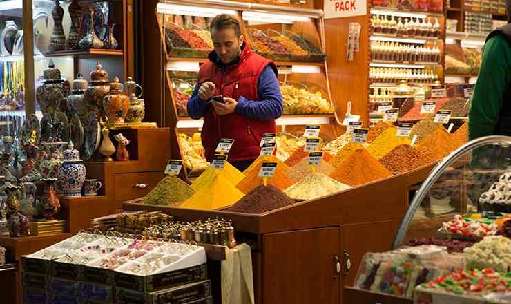 อิสตันบูล ประเทศตุรกี ตลาดเครื่องเทศ สไปส์มาร์เกต Istanbul Spice Market ตอนที่ 2