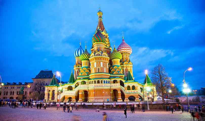 ทัวร์รัสเซีย  กรุงมอสโคว์  ซาร์กอร์ส อนุสรณ์สถานเลนิน 5วัน 3คืน