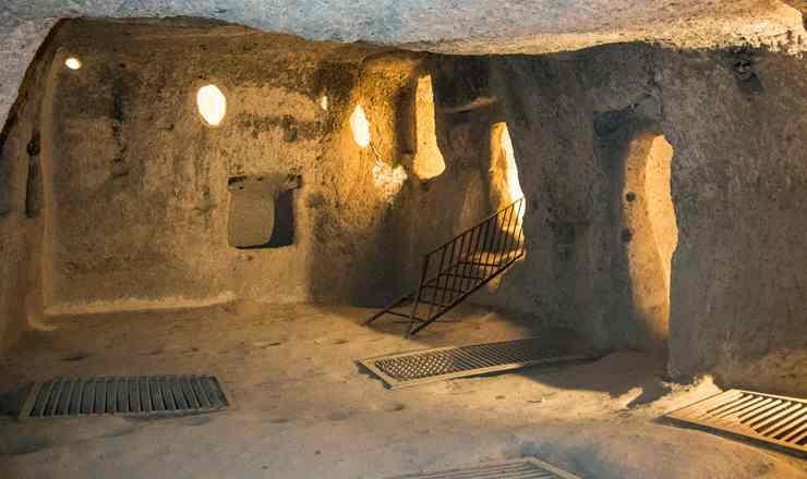 คัปปาโดเกีย ตอน 1 นครใต้ดินไคมัคลี เมืองใต้ดินที่ใหญ่ที่สุด และมีอายุกว่า 4 พันปี