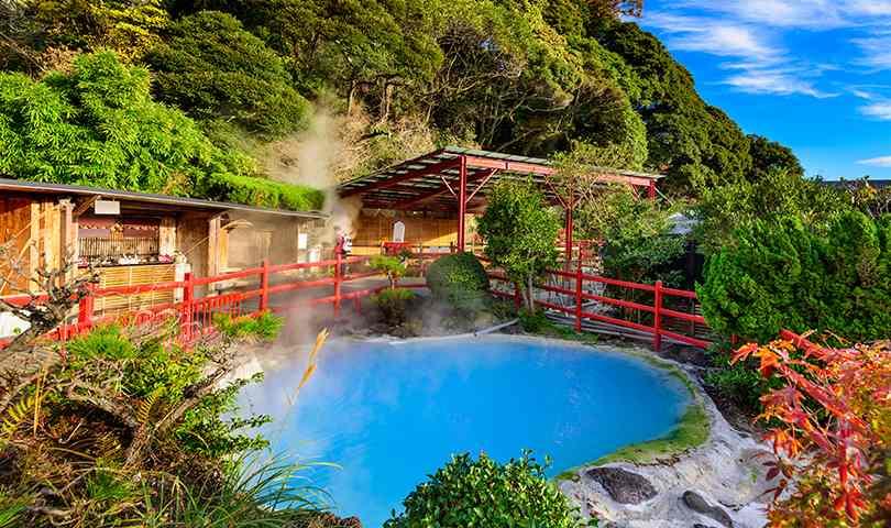 ทัวร์ญี่ปุ่น สวัสดี ซากุระ  ปะทะภูเขาไฟอะโสะ