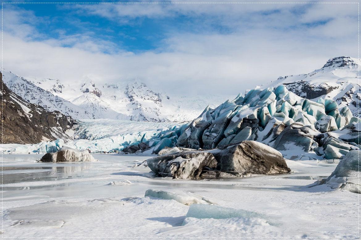 ธารน้ำแข็ง Svínafell Glacier