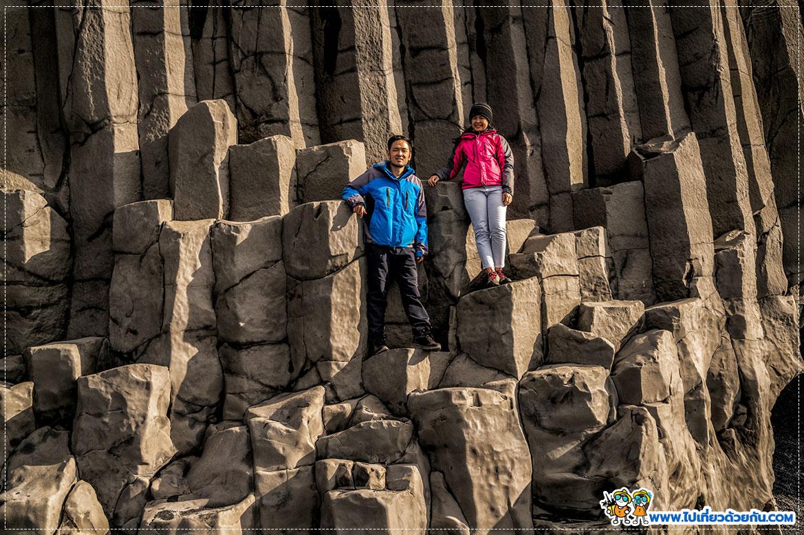 ทรายดำ Feynisfjara