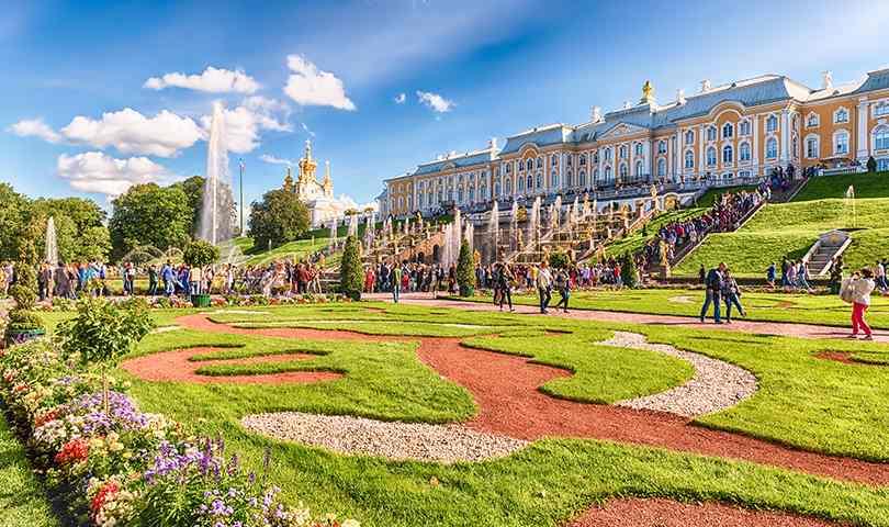ทัวร์รัสเซีย มอสโคว เซนต์ปีเตอร์เบิร์ก 8 วัน 5 คืน