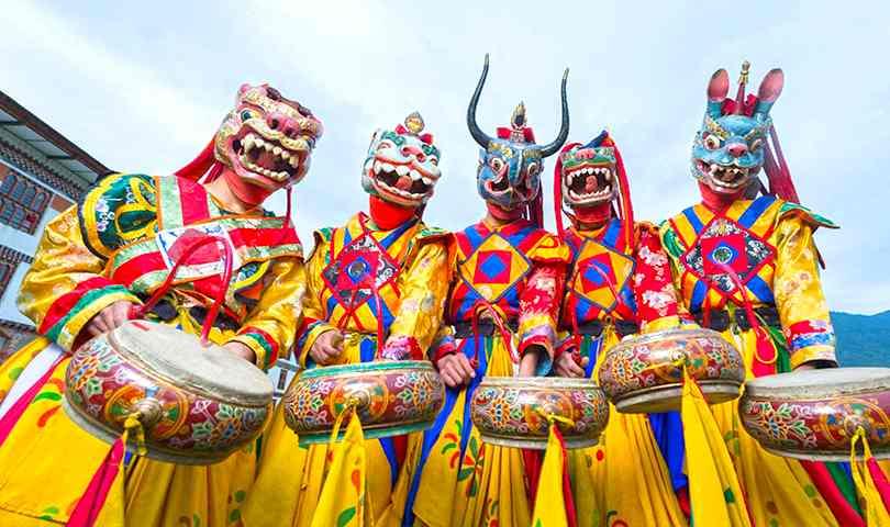 ทัวร์ภูฏาน พาโร ทิมพู พูนาคา เที่ยวครบ 3 เมืองหลัก 5วัน 4คืน