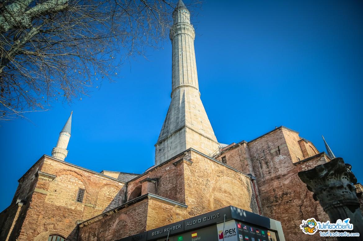 เที่ยวตุรกี ฮาเกียโซเฟีย อิสตันบูล ประเทศตุรกี  เรื่องราวเม้าประวัติศาสตร์ ตอนที่1
