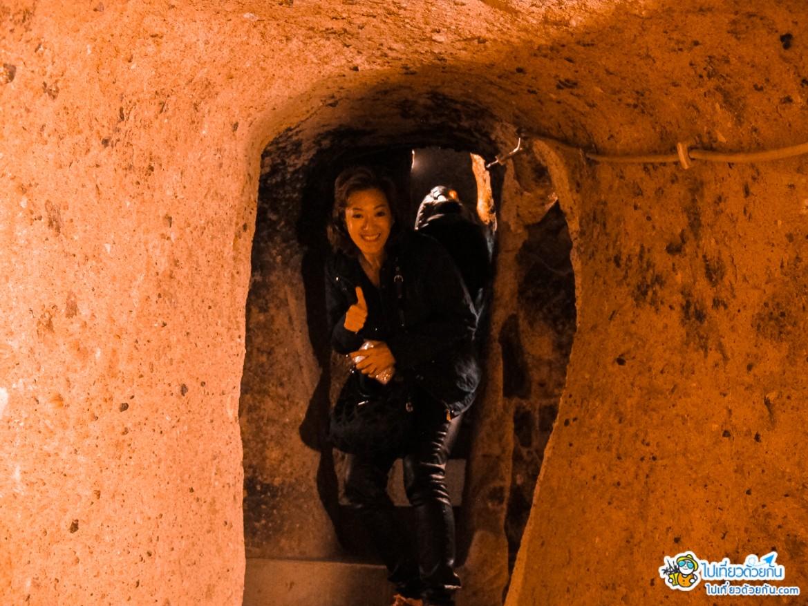 เที่ยวตุรกี นครใต้ดินไคมัคลี ประเทศตุรกี เมืองใต้ดินที่ใหญ่ที่สุด และมีอายุกว่า 4 พันปี