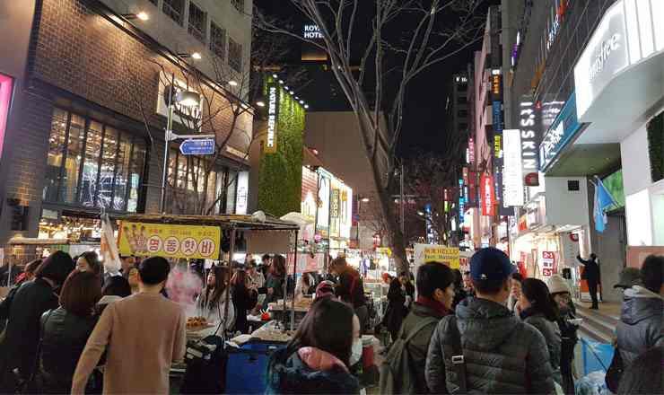 เมียงดง แหล่งช้อปปิ้งชื่อดัง ณ ถนนเมียงดง กรุงโซล เกาหลีใต้