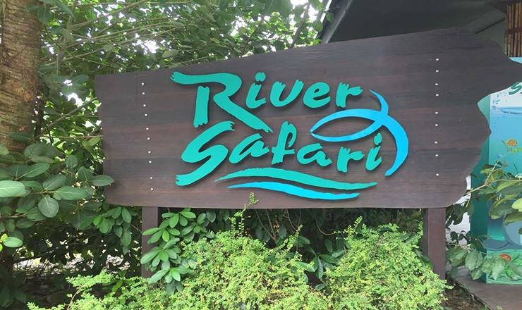 บัตรเข้าชม River Safari