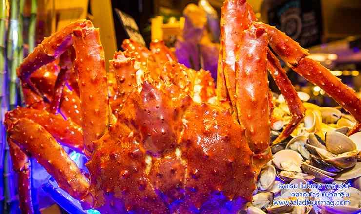 มหกรรมกินปูบุฟเฟ่ต์ Come On Crab - Fresh Fast Fin ที่จัดเต็มอลังการ ณ เดอะสแควร์ โรงแรมโนโวเทล เพลินจิต