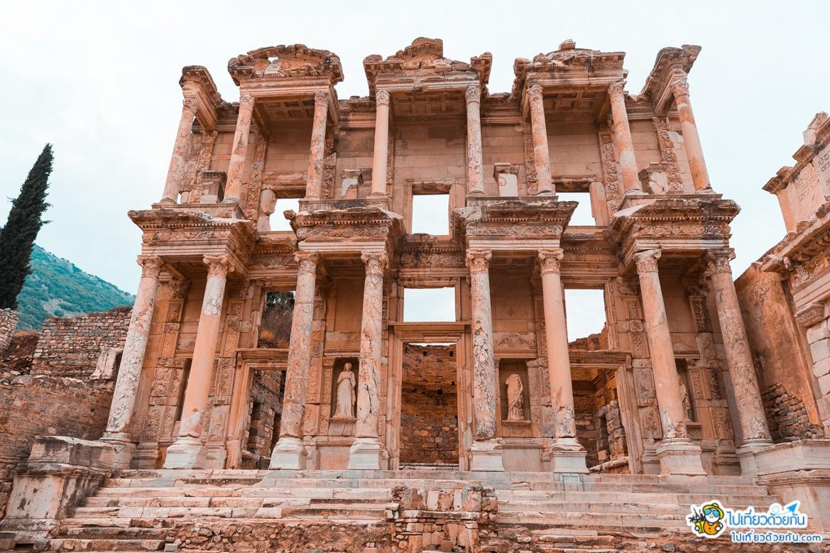 เที่ยวตุรกี เอเฟซุส Ephesus มหานครโบราณที่ยิ่งใหญ่ในประเทศตุรกี ตอนที่2 เทพเจ้าไม่จำเป็นต้องนุ่งผ้า
