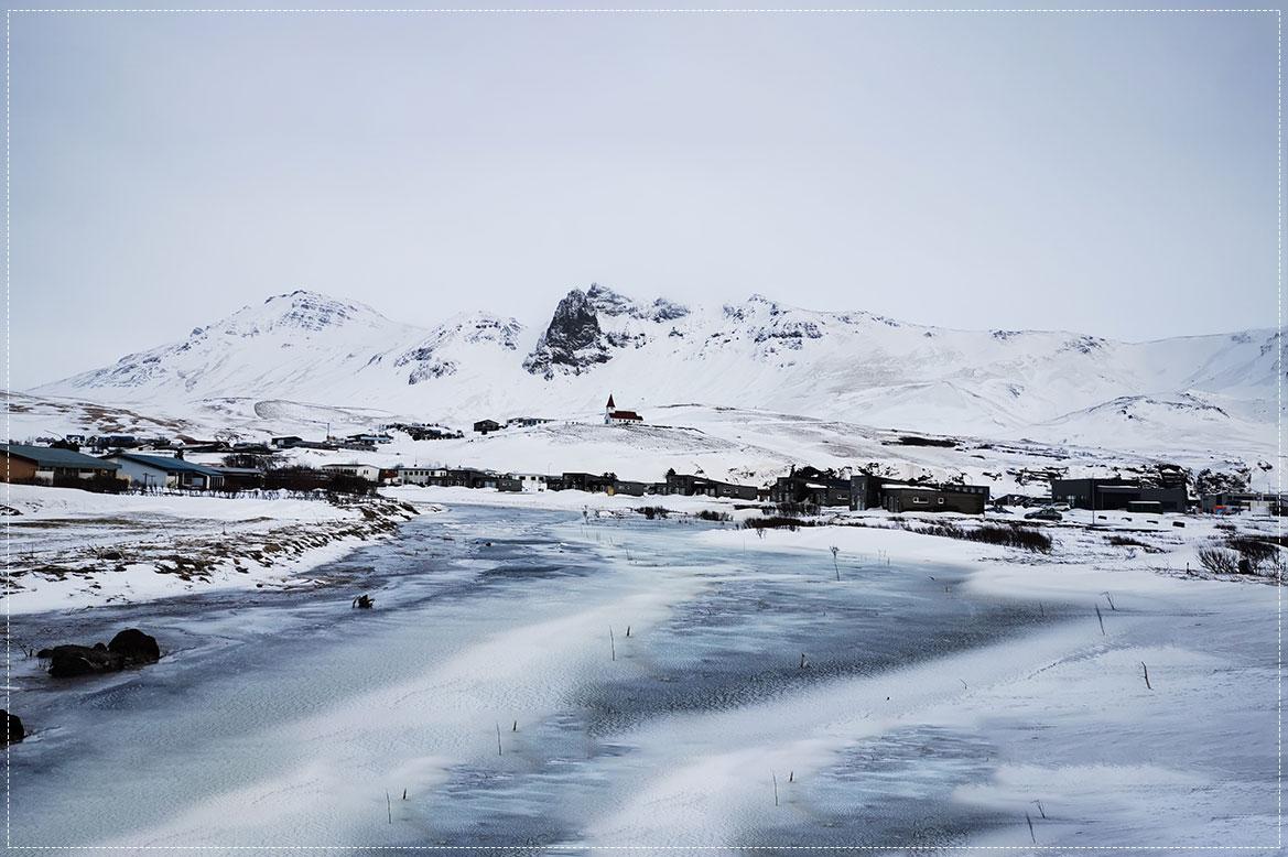 - หมู่บ้าน วิค ไอ เมอดัลVík í Mýrdal -