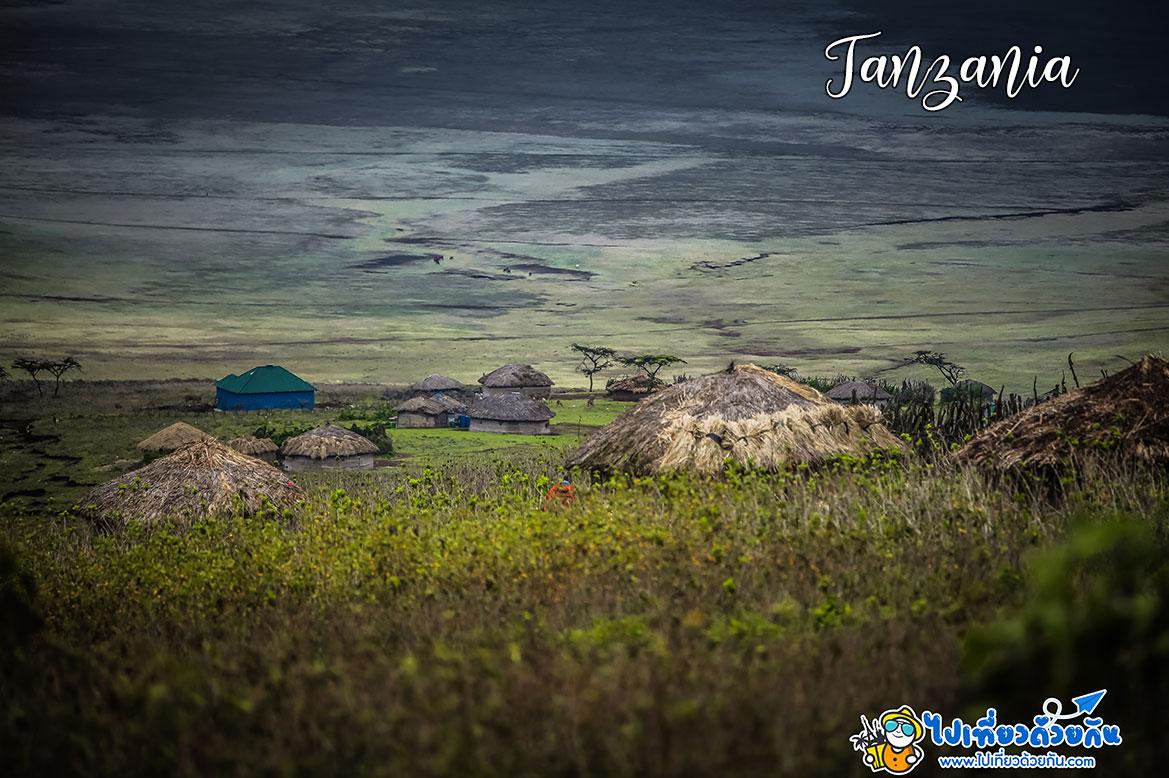 - หมู่บ้านชนเผ่ามาไซ ( Maasai Tribe) -