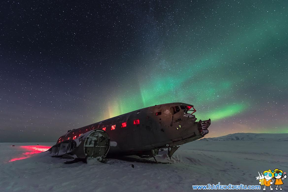 - ดูแสงเหนือไอซ์แลนด์ -