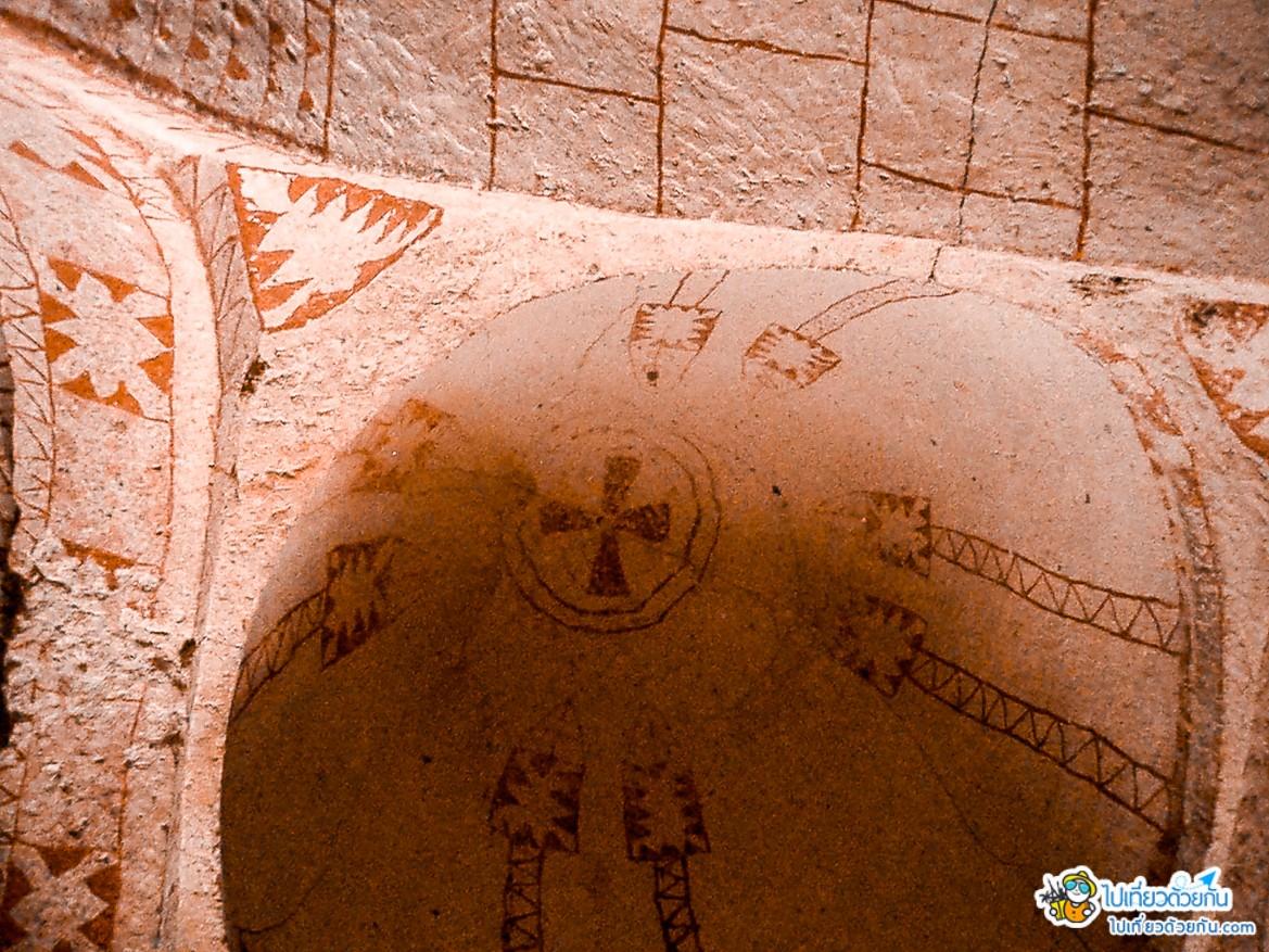 -  โบสถ์เซนต์บาร์บารา ประเทศตุรกี -