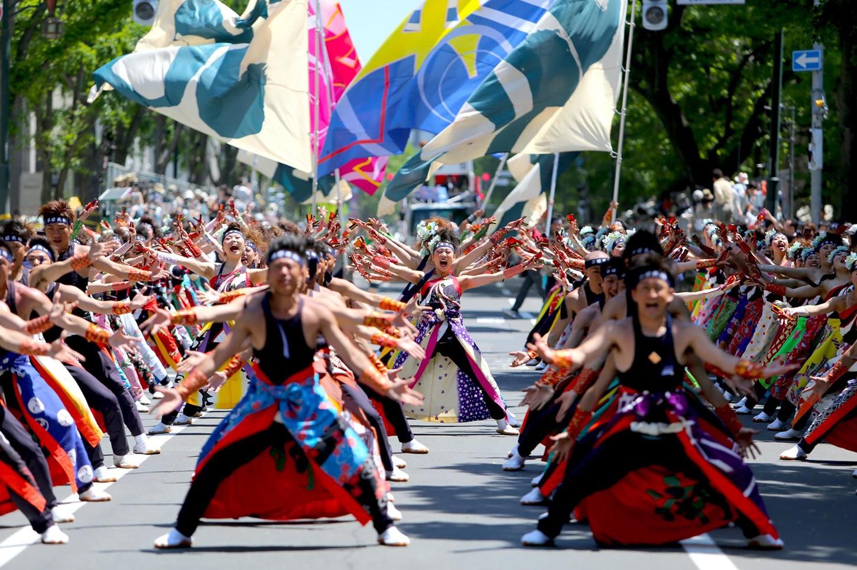 เที่ยวญี่ปุ่นเทศกาล โยสะโคอิ โซรัน ของคนญี่ปุ่นเมืองซัปโปโร ฮอกไกโด ที่โด่งดังไปทั่วโลก