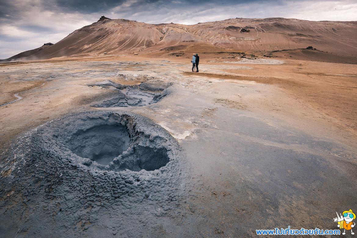 - น้ำพุร้อน Strokkur Geysir -