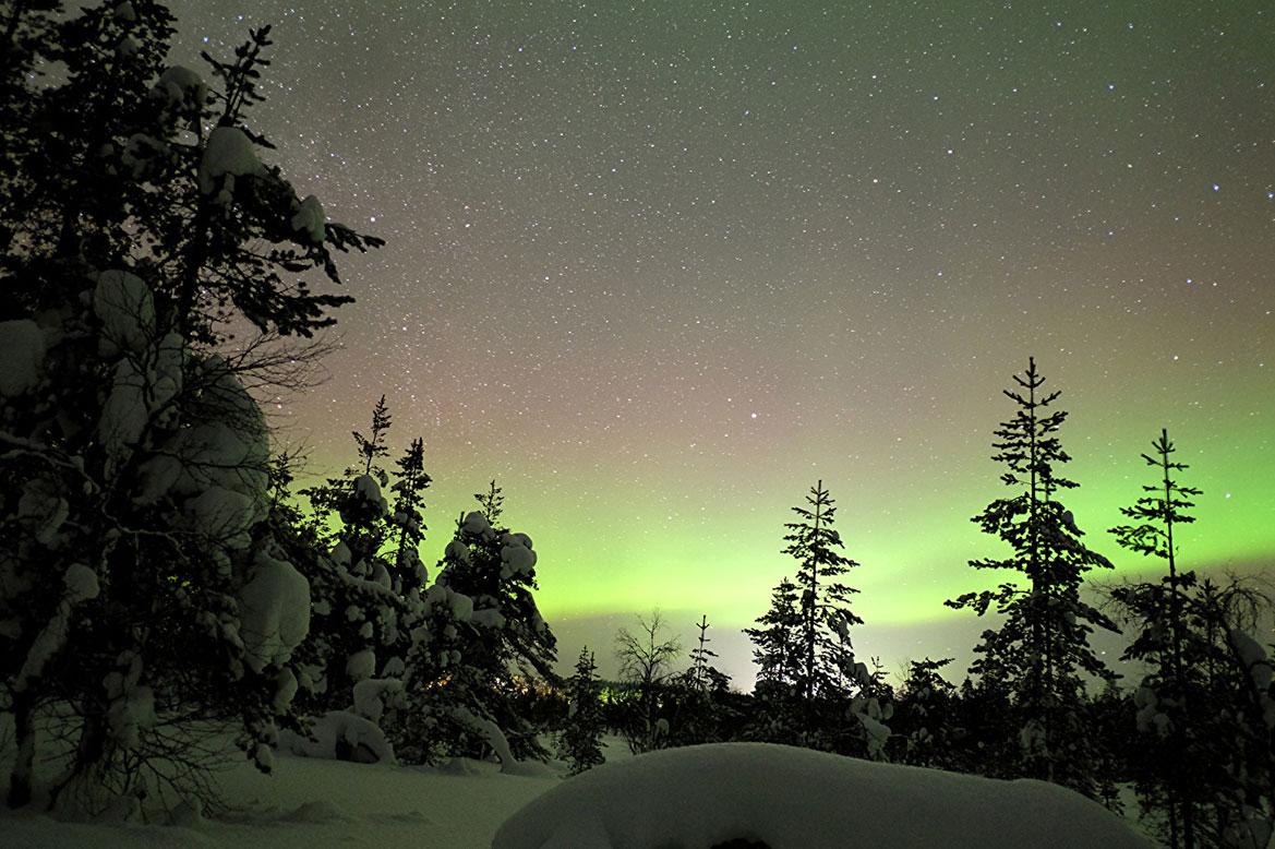 - จุดดูแสงเหนือฟินแลนด์ -