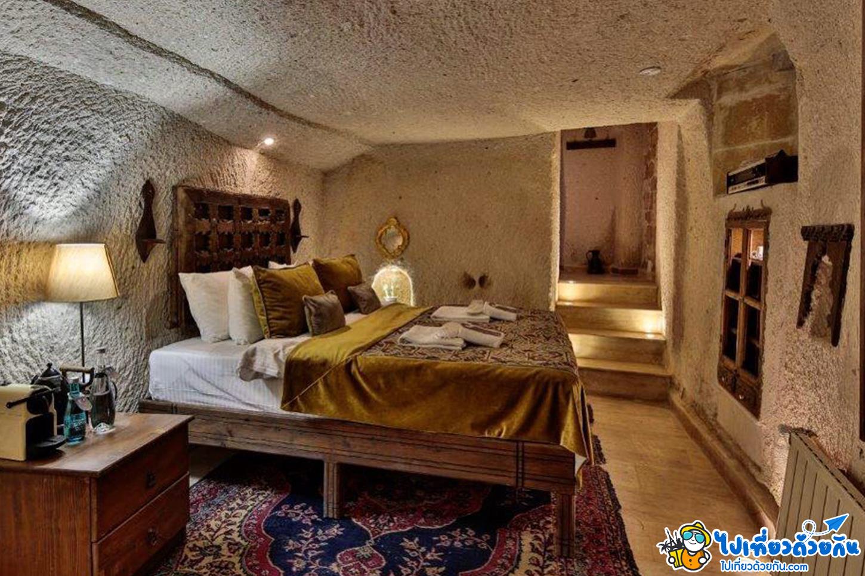 - โรงแรมดูวิวบอลลูนสวยที่สุดในเมือง อุชิซ่าร์ คัปปาโดเกีย -