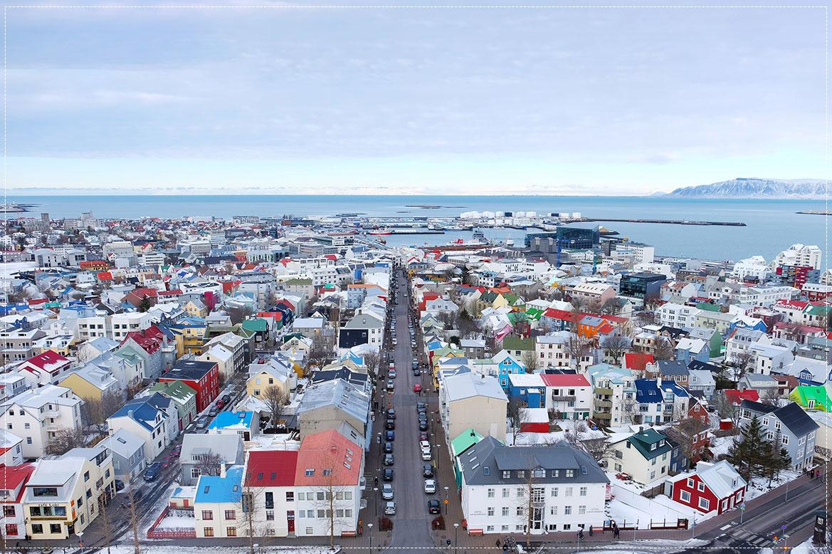 - เมือง Reykjavik City Centre -
