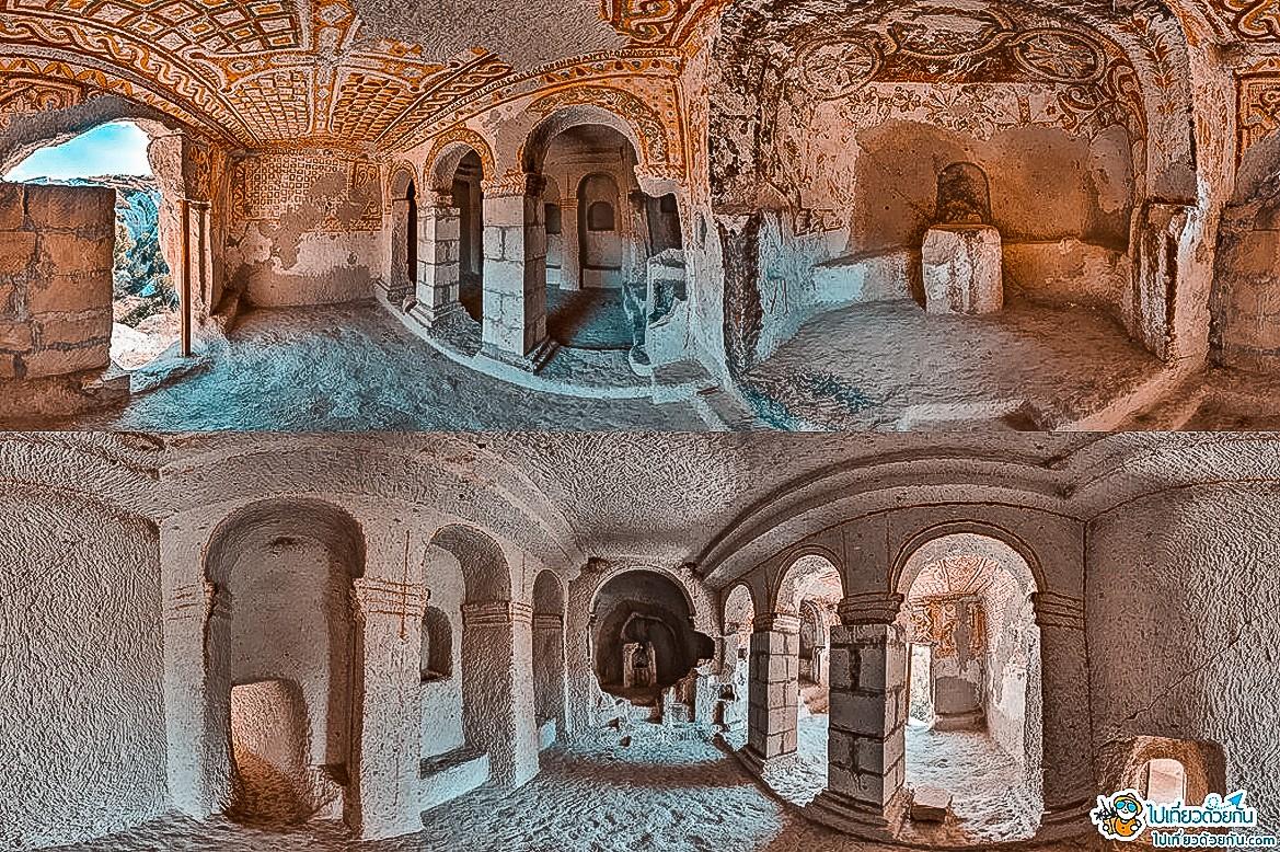 - โบสถ์เซนต์บาซิล ประเทศตุรกี -