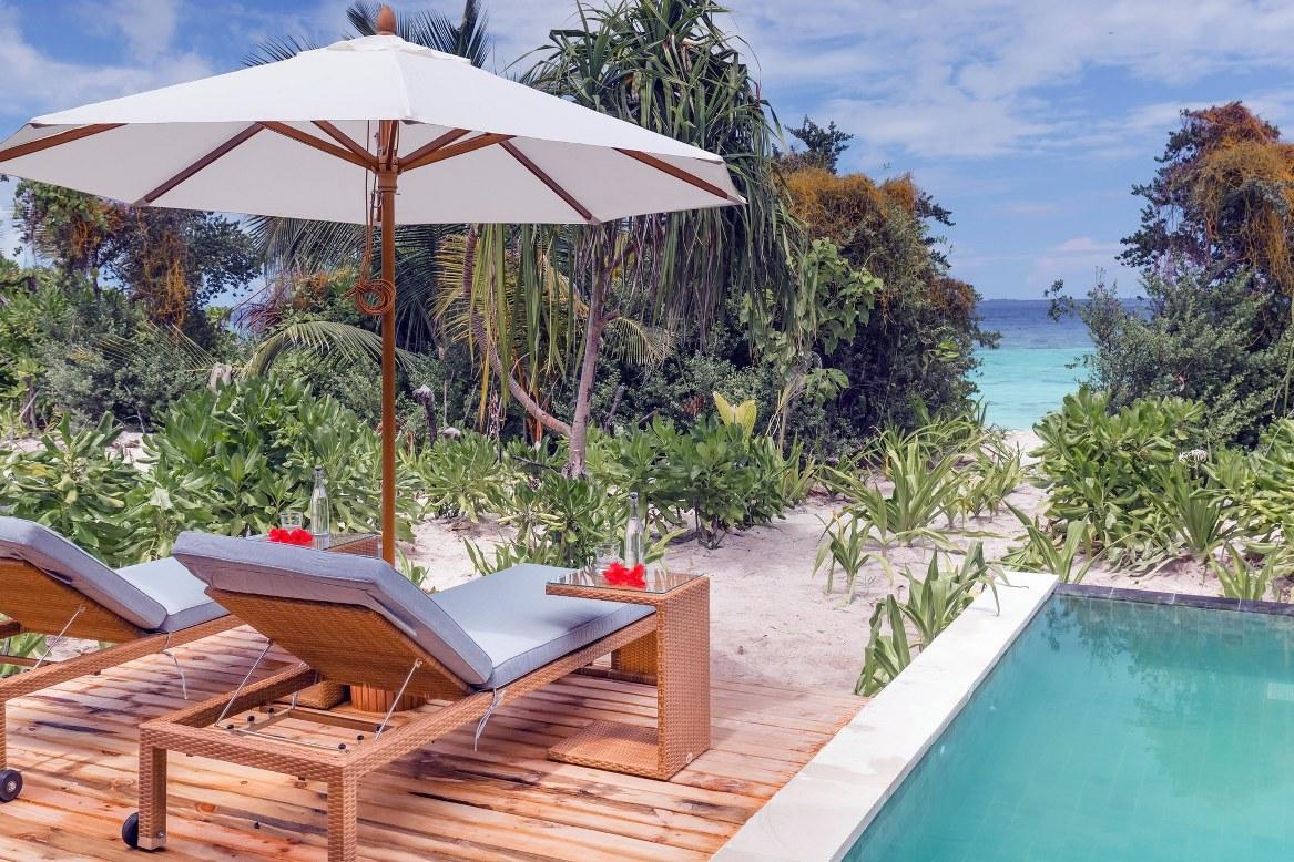 - ห้องพัก คุดะฟูชิ รีสอร์ทแอนด์สปา สไตล์ Beach Villa with Pool -