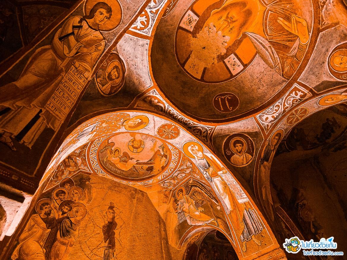 - โบสถ์เซนต์เอลมาลิ Apple Church ประเทศตุรกี -