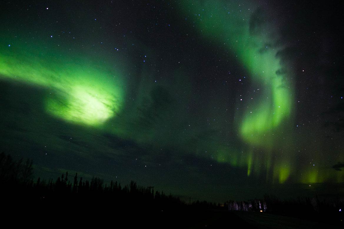 - ดูแสงเหนือ อลาสก้า Fairbanks -