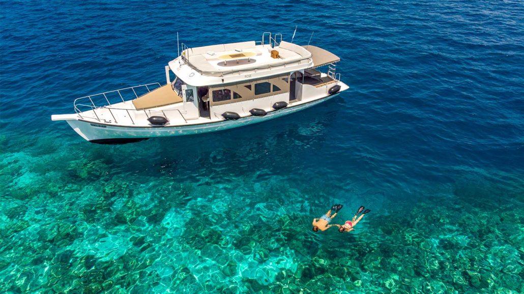 - การดำน้ำตื้นแบบ snorkeling SNORKELLING -