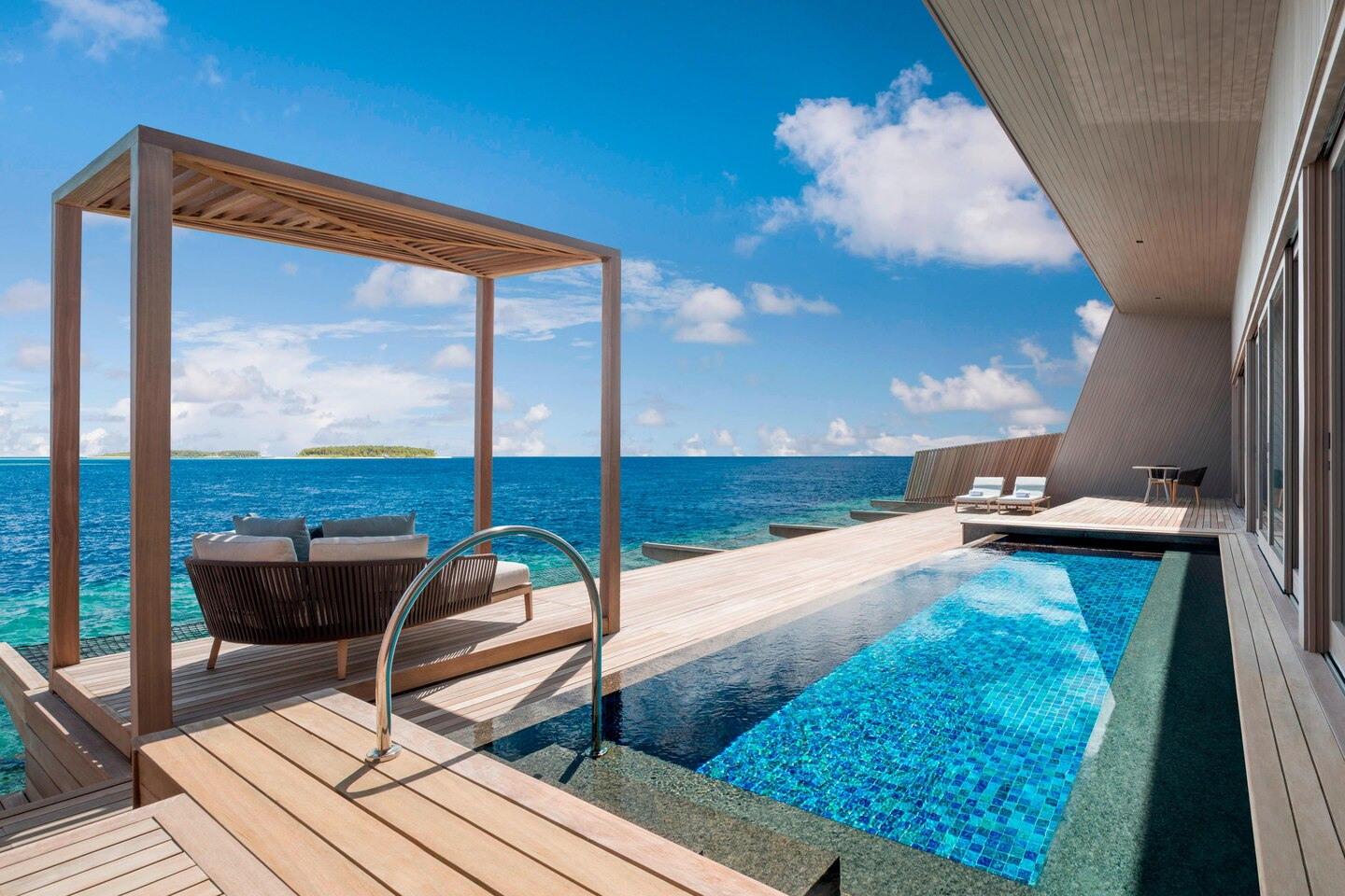 - Overwater Villa with Pool -