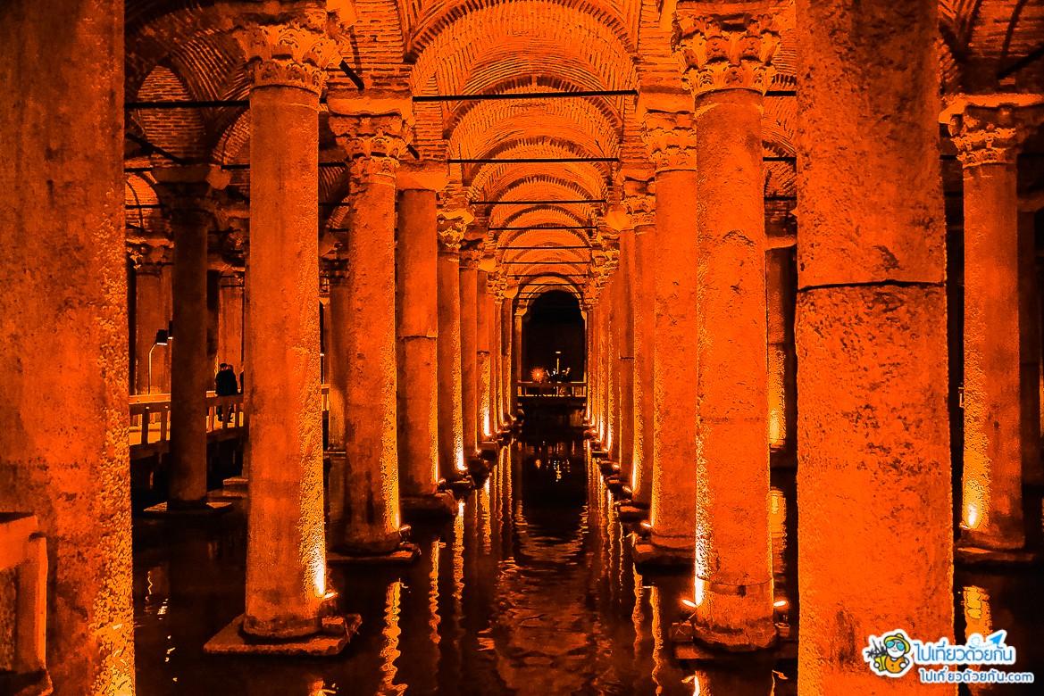 -  อ่างเก็บน้ำใต้ดินเยเรบาตัน ข้อมูลเที่ยวตุรกี -