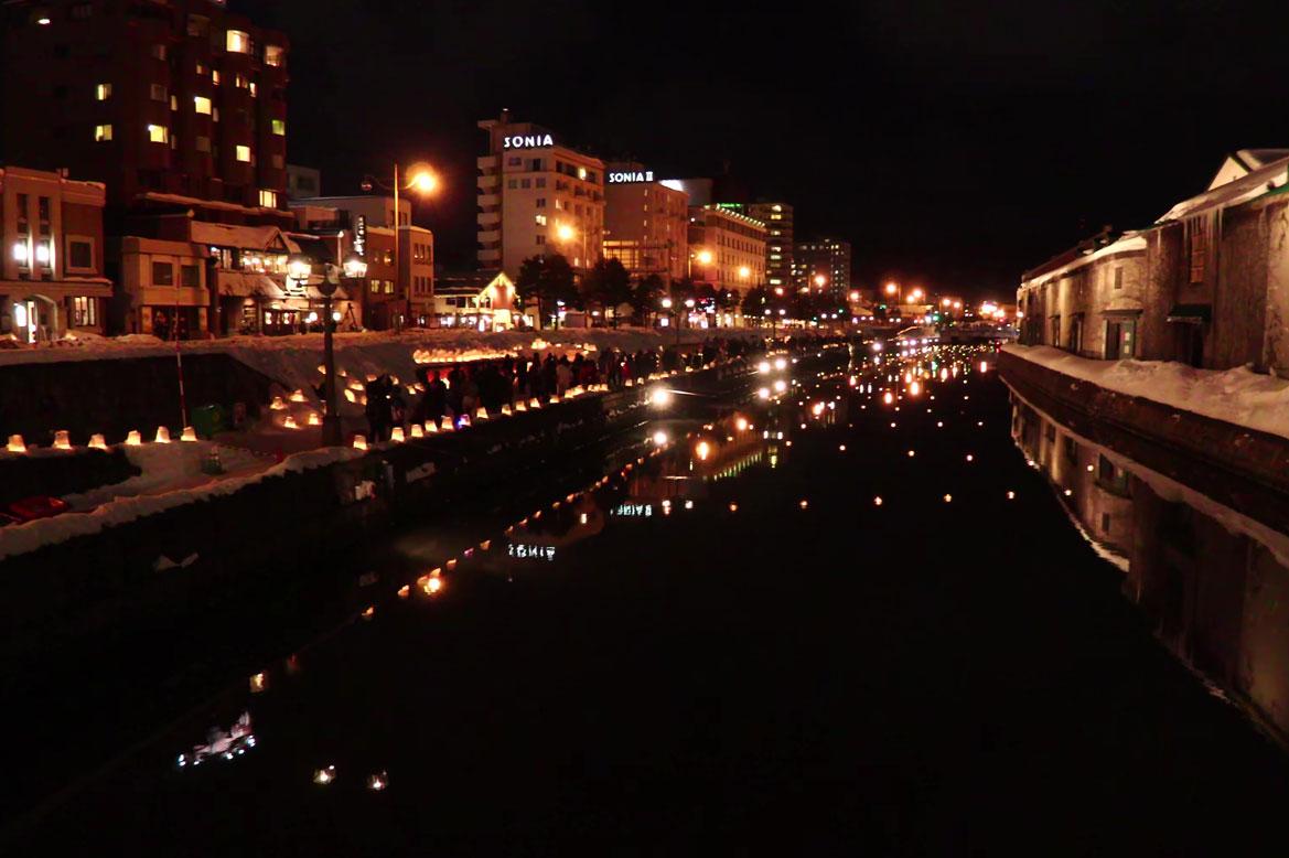 -  เทศกาลหิมะโอตารุ -