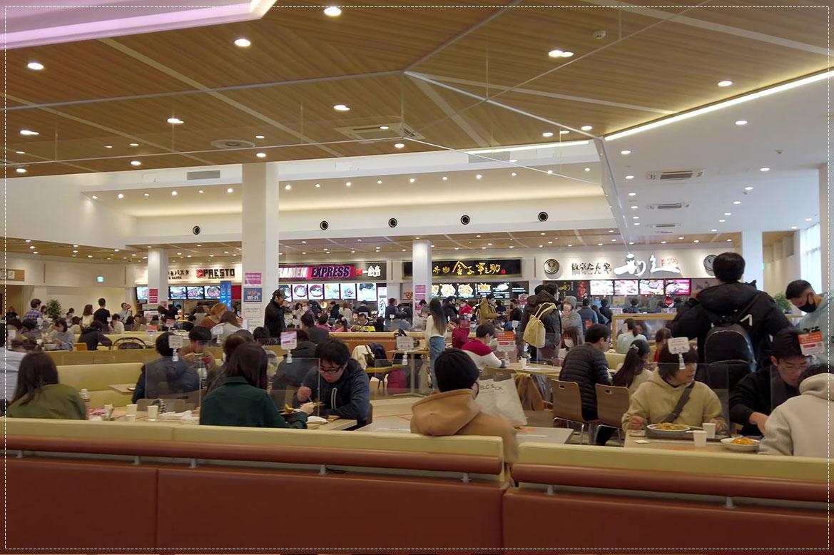 - ศูนย์อาหาร Mitsui Outlet Park Sapporo Kotahiroshima -
