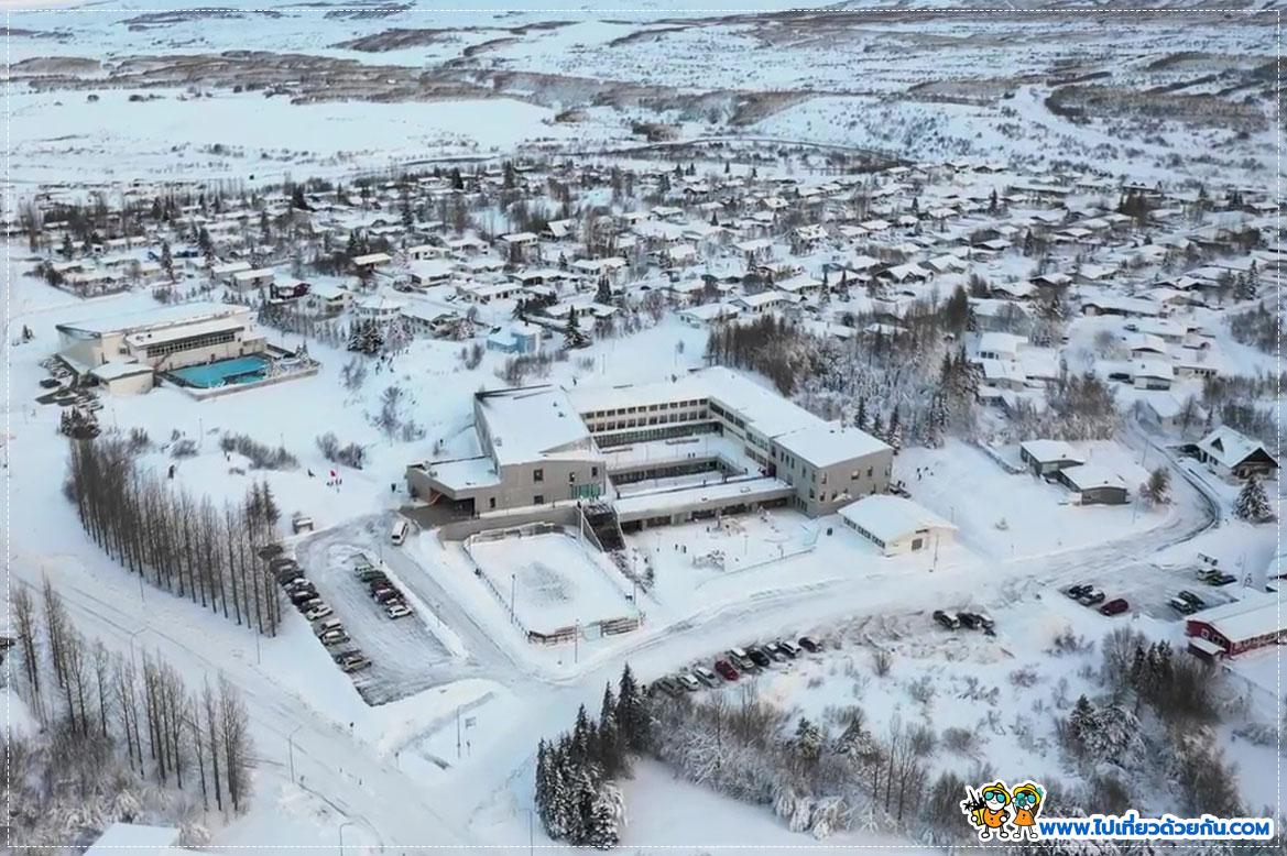 - Egilsstaðir town -