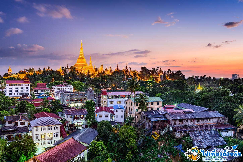 เที่ยวพม่า วัดพระมหาเจดีย์ชเวดากอง Shawedagon Pagoda หนึ่งในมหาบูชาสถานที่ศักดิ์สิทธิ์ ใครๆไปพม่าห้ามพลาดต้องมาที่นี่อย่างแน่นอน