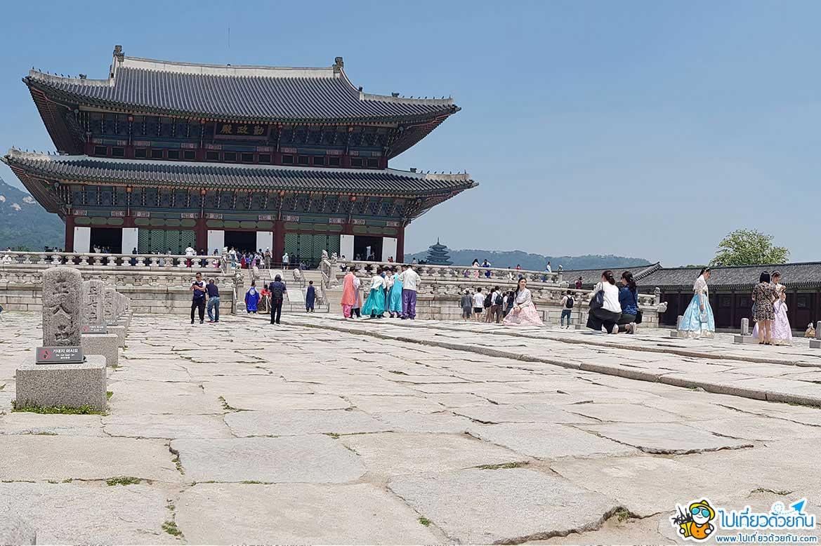 เที่ยวเกาหลี เยือนพระราชวังเคียงบกกุง เป็นสัญญลักษณ์และแหล่งท่องเที่ยวยอดฮิตของกรุงโซล ห้ามพลาดเด็ดขาด