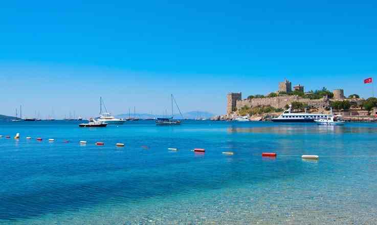 เที่ยวตุรกี ฟ้าใสที่โบดรุม เมืองที่มีมนต์เสน่ห์แห่งริมทะเลอีเจียน