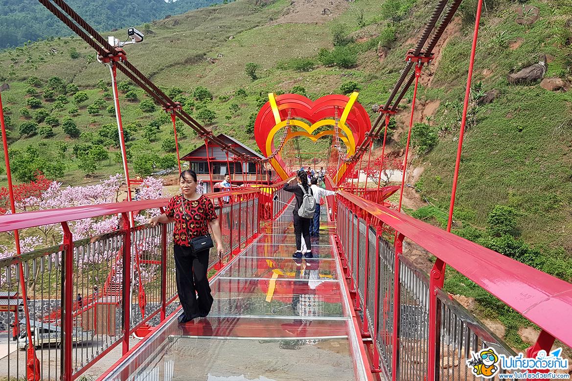 เที่ยวเวียดนามเหนือ เมืองหมกโจว สะพานแก้วหมกโจว ไปแล้วฟินแน่นอน