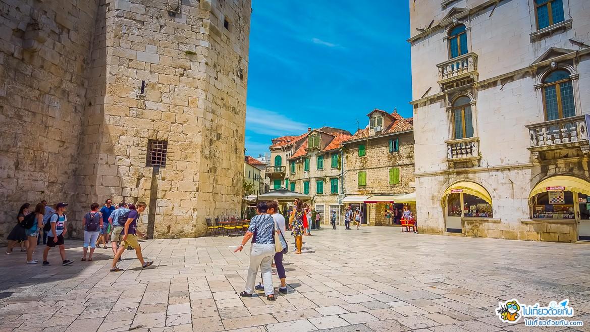 -  เมืองสปลิท Split ประเทศโครเอเชีย -