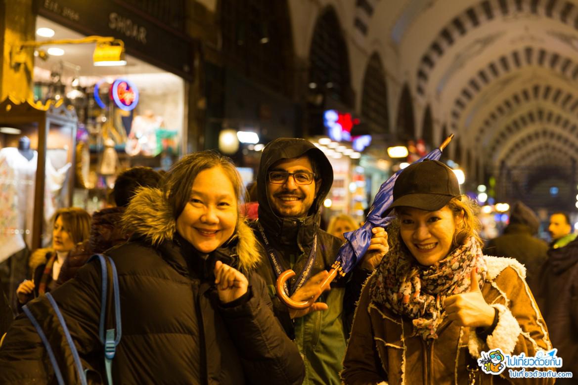 เที่ยวตุรกี ตลาดเครื่องเทศ สไปส์มาร์เกต Spice Market Istanbul อิสตันบูล ประเทศตุรกี