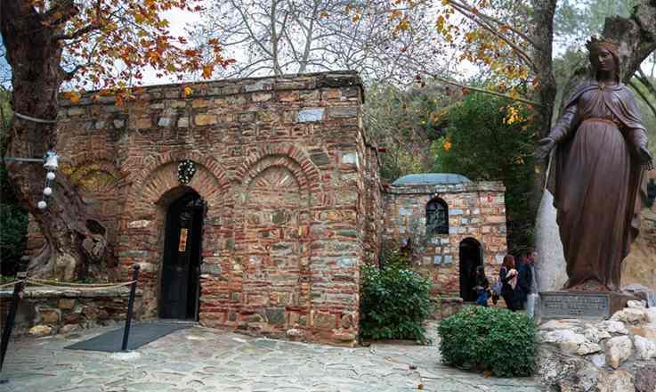 เที่ยวตุรกี ต้องมาบ้านพระแม่มารี ณ เมืองเอเฟซุส ตุรกี สถานที่สำคัญของชาวคริสเตียน และชาวมุสลิม