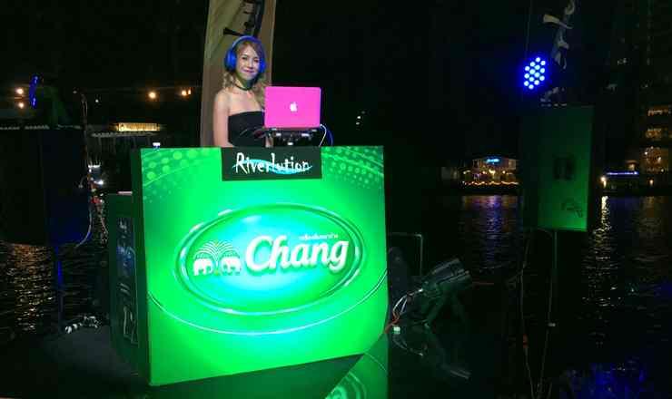 ปาร์ตี้ริมแม่น้ำเจ้าพระยาสุดชิค Riverlution Party โรงแรมรอยัล ออคิด เชอราตัน DJ เปิดเพลงแดนซ์โดนๆ ทุกศุกร์-เสาร์