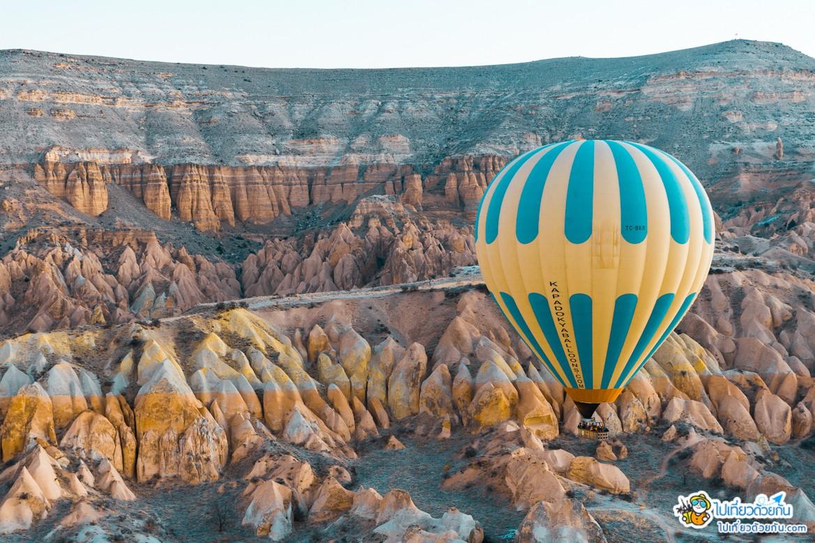 เที่ยวตุรกี เมืองคัปปาโดเกีย Cappadocia ประเทศตุรกี ที่เป็นเมืองมรดกโลกที่น่าเที่ยวอีกแห่งหนึ่งในตุรกี