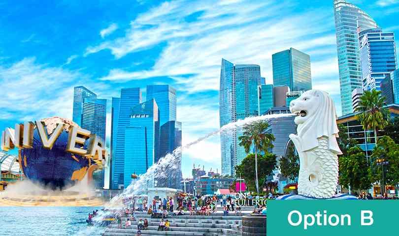 ทัวร์สิงคโปร์ เดือนสิงหาคม ชมเมืองสิงคโปร์ Option B (Tour Full) 4วัน 3คืน