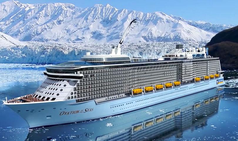 ล่องเรือสำราญ Ovation of the Seas สหรัฐอเมริกา แคนาดา 11วัน 8คืน บินอีวีเอ แอร์ (BR)